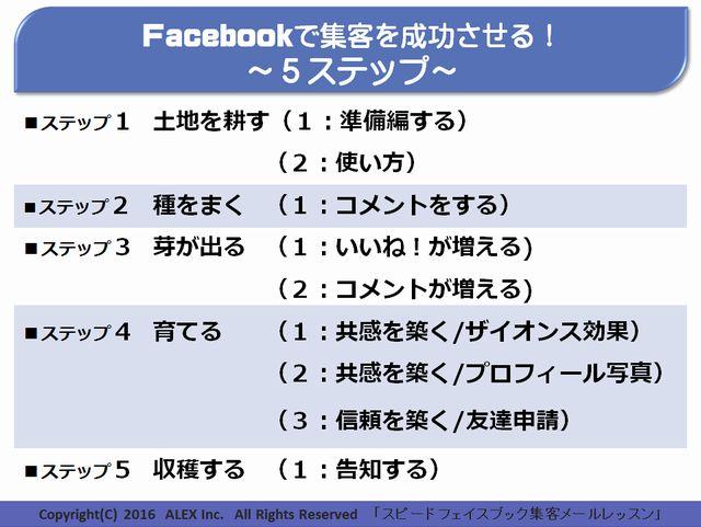 Facebookビジネス大全集 いいね!5ステップ